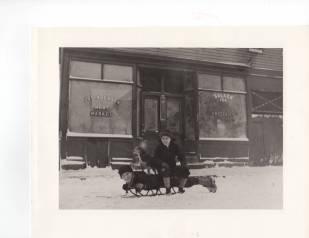 George & Ed sleigh