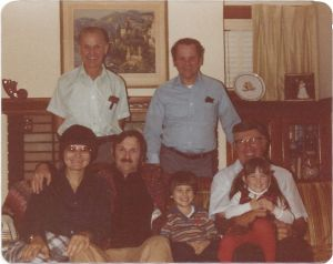 uncle george and family